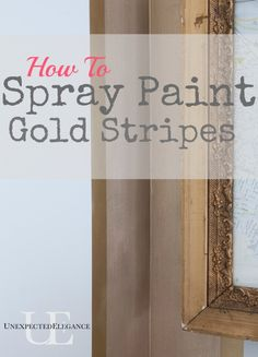 painting tips painted furniture how to spray paint gold wall. Black Bedroom Furniture Sets. Home Design Ideas