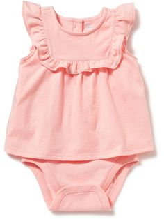 Patterned Bodysuit for Baby // 12-18 months