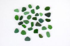 Green Bulk Sea Glass  Genuine Mediterranean Sea Glass for by Pebly