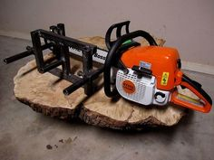 Many times a project calls for materials of specific dimensions and quality that can't be obtained, financially or logistically. A chainsaw mill is a tool that can be utilized to produce beams for timber framing or to cut slabs for wood working. Being mobile, it can be on site or right where the tree falls. This instructable shows how to construct a 20 in bar , variable height chainsaw mill. There is an update  in the mill post section.  The post clamps now have bolt pin...