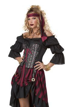 Pirate Wench Women's Costume