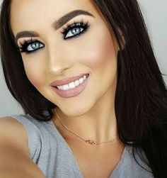 Subscribe now or else I will stop share ideas. I see 50 people a day take my ideas and none of them is a subscriber. That's not fair! #blackhair #straighthair #contour #contouring #bigeyelashes #eyelashes #eyebrows #bigeyebrows #makeup #blueeyes #eyeshadows #blueeyeshadows
