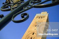 The Koutoubia Minaret, the Medina, Marrakech, Morocco, North Africa