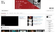 vizuál hudebníka - youtube