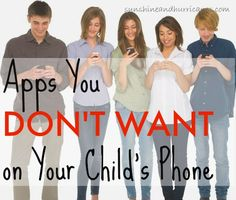 """There are so many apps available for kids, but often some of the most popular ones, especially among teens and tweens, are not meant for their age group and pose serious safety risks. Do you want to know what apps are the worst for kids? We can tell you about the """"Apps you Don't Want on Your Child's Phone""""! The Worst Apps for Kids"""