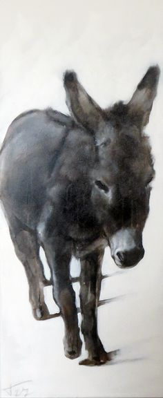 donkey 100*40 cm #donkeypainting