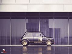 Mini with John Player Special livery