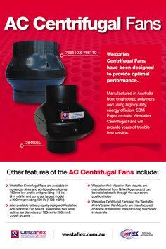 AC centrifugal fans brochure