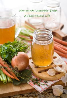 Homemade vegetable broth is light years beyond anything from a box or jar. Homemade is easy, healthy and fast with a pressure cooker. Recipe on my site.