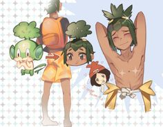 pokemon sun and moon hau   Tumblr