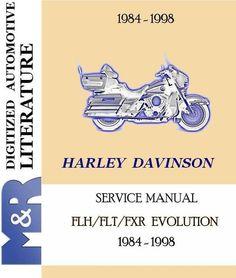 1991 1998 harley davidson fxd dyna evolution service manual service rh pinterest com harley evolution service manual harley evolution engine manual