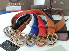 GUCCI Original 2018-06-08-2284 Whatsapp:86 18059955283 Louis Vuitton High Tops, Cartier, Latest Fashion, Chloe, Gucci, Belt, Accessories, Style, Mont Blanc