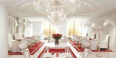 It is a terrific hotel and this..El Bistro at the Philippe Starck-designed Faena Hotel+Universe in Buenos Aires
