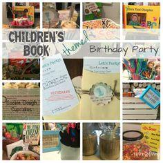 Children's Book Themed Birthday Party - Refresh Living