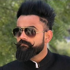 Latest Hairstyle For Men Beard Styles For Boys, Long Beard Styles, Hair And Beard Styles, Latest Haircuts, Latest Hairstyles, Haircuts For Men, Beautiful Boy Image, Barber Shop Haircuts, Photoshoot Pose Boy
