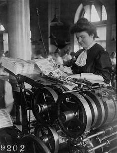 printing money circa 1908 (1 of 3) by Thiophene_Guy, via Flickr