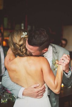 """Brides.com: 64 Perfect First-Dance Songs Jessica and Stratton chose """"Take Care"""" by Beach House for their emotional first dance at their California wedding.Photo: Chloe Moore Photography"""