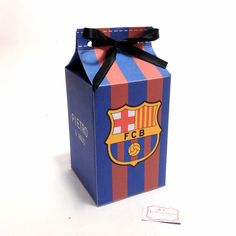 Bolo Do Barcelona, Barcelona Party, Little Boxes, Novelty Gifts, 5th Birthday, Real Madrid, Birthdays, Handmade, Soccer Birthday Parties