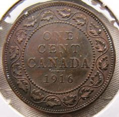 Get the value, prices and worth of everyday money. Canadian Penny, Canadian Coins, Pennies From Heaven, Rare Coins Worth Money, Coin Worth, Half Dollar, Coin Collecting, Canada, Edge Design