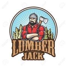 lumberjack logos - Google Search