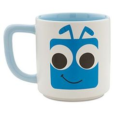 Disney Flik Mug - A Bug's Life | Disney StoreFlik Mug - A Bug's Life - The inventive little Flik squares up on the front and back of this mug. Part of the Disney/Pixar mug collection, this cup features stylized artwork of the <i>A Bug's Life</i>'s star.