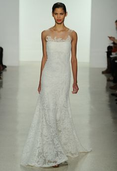 Sheath Wedding Dress : Amsale Spring 2015 | MCV Photo | The Knot Blog