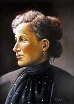 Mary Church Terrell (September 23, 1863 - July 24, 1954) was one of the first African American women in the country to earn a college degree. She then taught at Wilberforce College in Xenia, Ohio and at M Street High School (now Dunbar High) in Washington DC. She was president of the National Association of Colored Women's Clubs, a founder of Delta Sigma Theta Sorority, and with Ida Wells-Barnett was one of the two African American women involved in creating the NAACP in 1909.