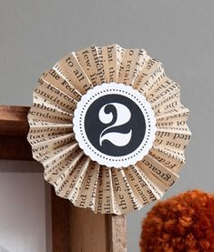 Includes step by step instructions with photos. Great for badges, awards, or decorations.