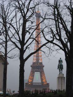 Eiffel Tower ~ Paris in December