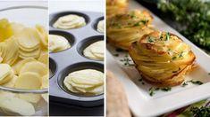 Famózne jedlo z obyčajných zemiakov? Pripravte ich vo forme na muffiny! Gordon Ramsey, Veggie Recipes, Mashed Potatoes, Side Dishes, Easy Meals, Veggies, Food And Drink, Gluten Free, Vegetarian