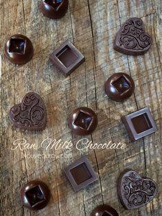 Milk Chocolate (raw, vegan, gluten-free, nut-free)