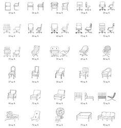 chair chart 1 by Garrett Leather