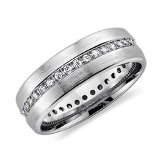 Men Wedding Rings diamond Men Wedding Rings with Diamond and Masculine Design