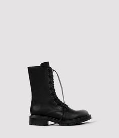 Womens Aars Boot (Black) | ALLSAINTS.com