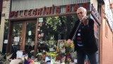 A violinist plays outside Pellegrini's in honour of well-known co-owner Sisto Malaspina Abc News, Plays, Melbourne, The Outsiders, Travel, Games