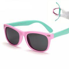 Flexible Kids Polarized Sunglasses