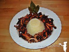 Las Recetas de Malena: Sepias (Chocos) con arroz blanco