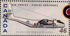 46c Canadian Postage Stamp celebrating the 75th Anniversary of the RCAF