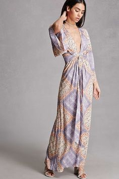Selfie Leslie Kimono Maxi Dress - Going Out Edit - 2000285534 - Forever 21 EU English