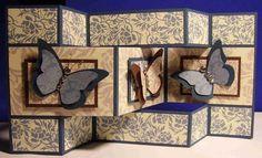 Butterfly Tri-Shutter Card