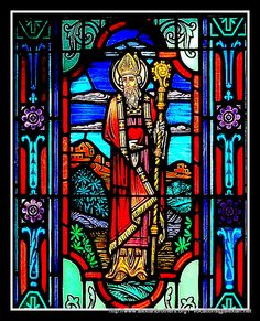 St. Augustine of Hippo (354-386 AD) - Stained Glass Window from the St Augustine's Chapel @ AVT in Signal Mountain, TN. The Alexian Brothers celebrate the Feast of St. Augustine having adopted him as one of their patron saints  The Congregation of Alexian Brothers also follow the modified St.Augustine's Rule for their Way of Life.  Like the early numbers of religious orders, St Augustine's Rule has served as an outline for living religious life in a community. http://www.alexianbrothers.org