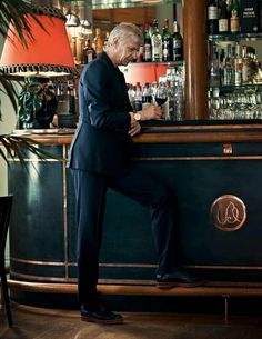 Wenger says he brings out the 'beauty in man' in French fashion shoot