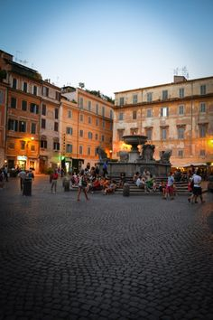 Rome - Trastevere. Ahhh the heart of Rome! Hung out there while abroad!