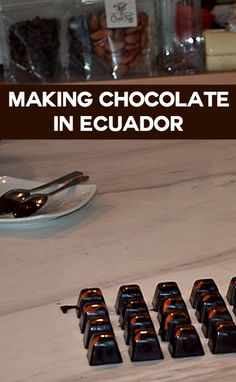 Things to do in Quito - visit Cheztiff and sample chocolate produced from Ecuadorian cocoa beans - delicious