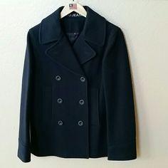 Polo Ralph Lauren Navy Wool Blazer Jacket Size S