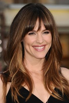 The Hottest Long Hairstyles & Haircuts For 2014 - Jennifer Garner