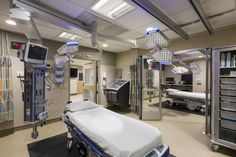 Inside NYU Langone Medical Center\'s new emergency department. Photo ...