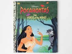 Disney Pocohontas Little Golden Book, The Voice of the Wind, Golden Books, Hardback, 1995, 01039