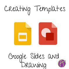 The drawing features in Google Draw and Slides allow you to create templates for…