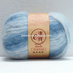 Fluffy mohair and acrylic and wool blended yarn for knitting, View acrylic blended yarn, Lucky Weaver Product Details from Jiangsu Haite Fashion Co., Ltd. on Alibaba.com Hand Knitting Yarn, Wool Blend, Fancy, Throw Pillows, Detail, Fashion, Moda, Toss Pillows, Cushions